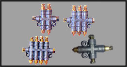 Take Off Metering Injectors